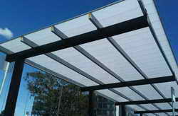 EasyClick-pc polycarbonate roofing by Ampelite